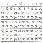 Number Sheet 1 100 To Print | Math Worksheets For Kids | 100 Number   Free Printable Number Worksheets 1 100