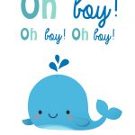 Oh Boy   Baby Shower & New Baby Card   Greetings Island   Free Printable Congratulations Baby Cards