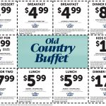 Old Country Buffet Coupons   $5 Breakfast, $6 Lunch & More At Old   Old Country Buffet Printable Coupons Buy One Get One Free