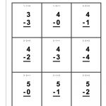 Once You Have Mastered Addition, Practicing With Subtraction Flash   Free Printable Addition Flash Cards