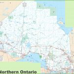 Ontario Province Maps | Canada | Maps Of Ontario (On, Ont)   Free Printable Map Of Ontario