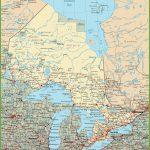 Ontario Road Map   Free Printable Map Of Ontario