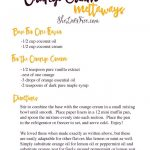 Orange Cream Meltaways Dessert Recipe And Printable | Gluten Free   Free Printable Dessert Recipes