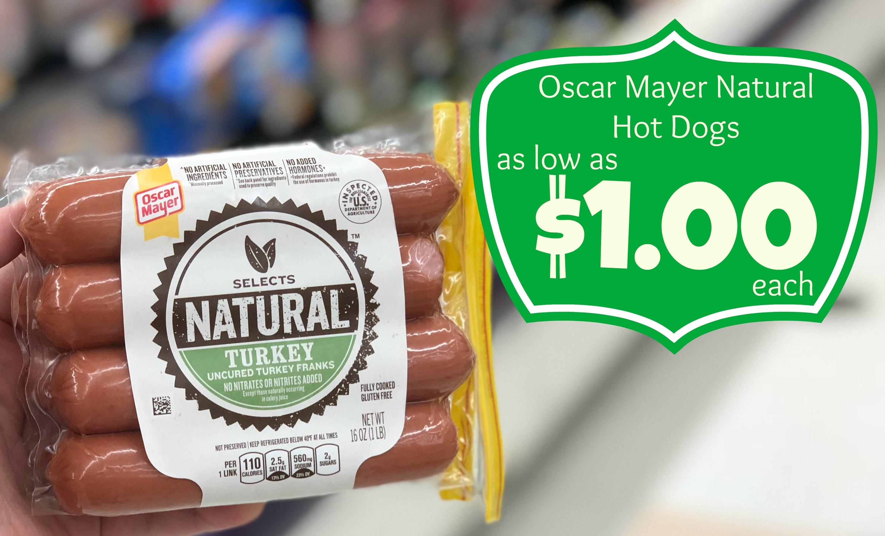 Oscar Mayer Natural Hot Dogs As Low As $1.00 Each At Kroger - Free Printable Oscar Mayer Coupons