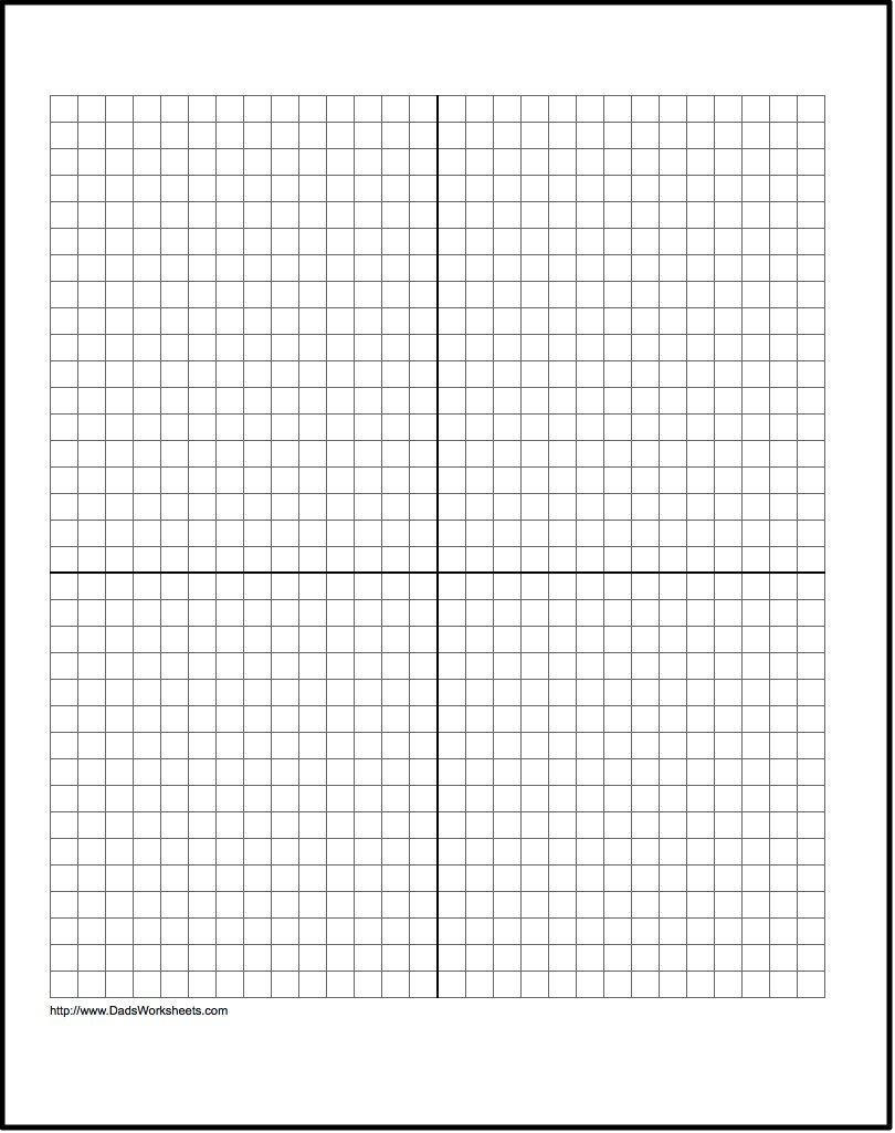 Our Free Printable Graph Paper Contains Both Metric And Customary - Free Printable Graph Paper
