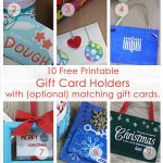 Over 50 Printable Gift Card Holders For The Holidays | Gcg   Free Printable Gift Card Envelope Template