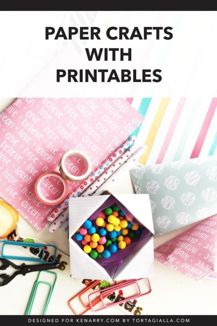 Free Printable Paper Crafts