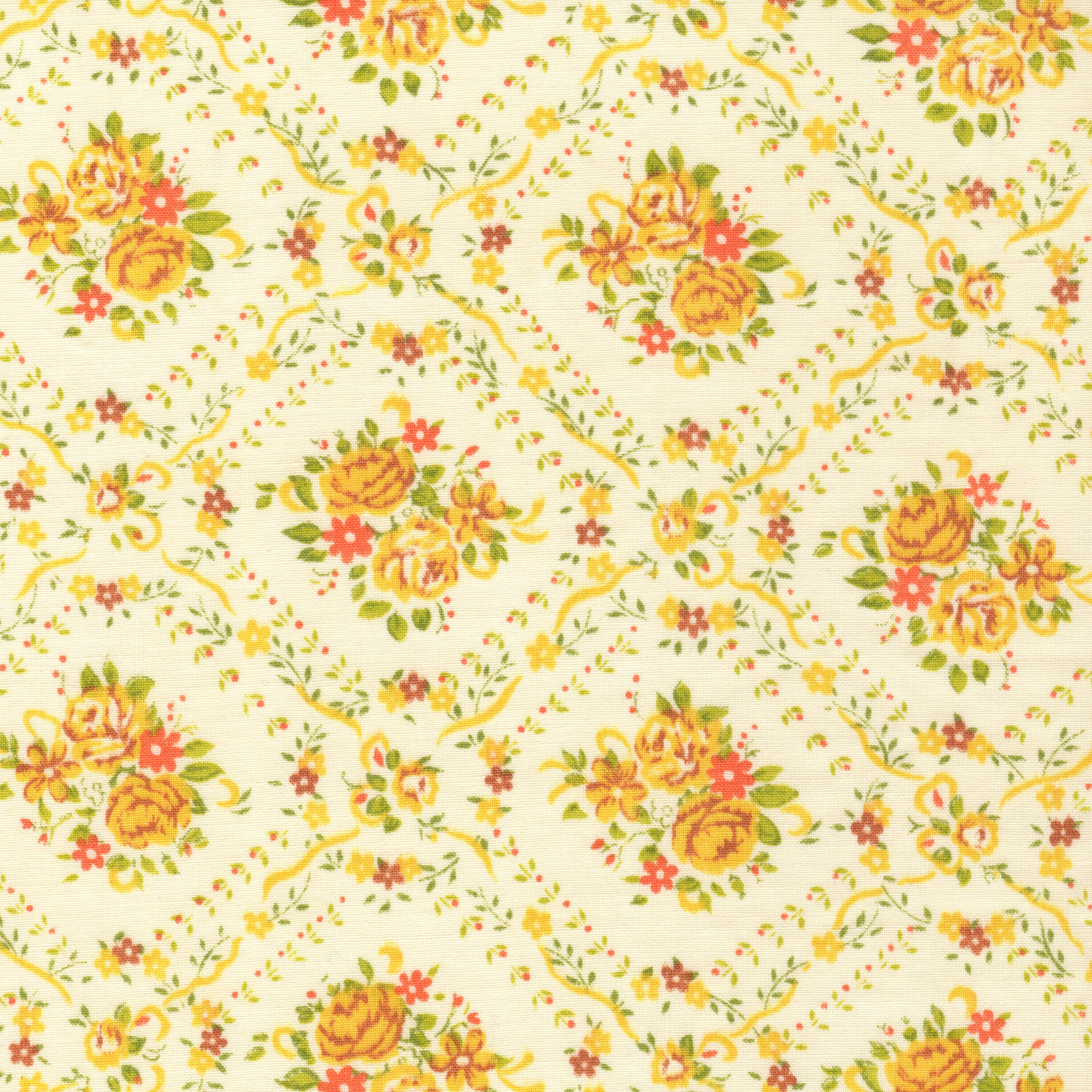 Paper: Free Floral Autumn 12 X 12 Digital Scrapbooking - Free Pretty - Free Printable Autumn Paper