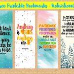 Paper Invader: Free Printable Bookmarks   Motivational   Free Printable Back To School Bookmarks
