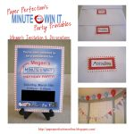 Paper Perfection: Minute To Win It Party Decorations, Favors And   Free Printable Minute To Win It Invitations