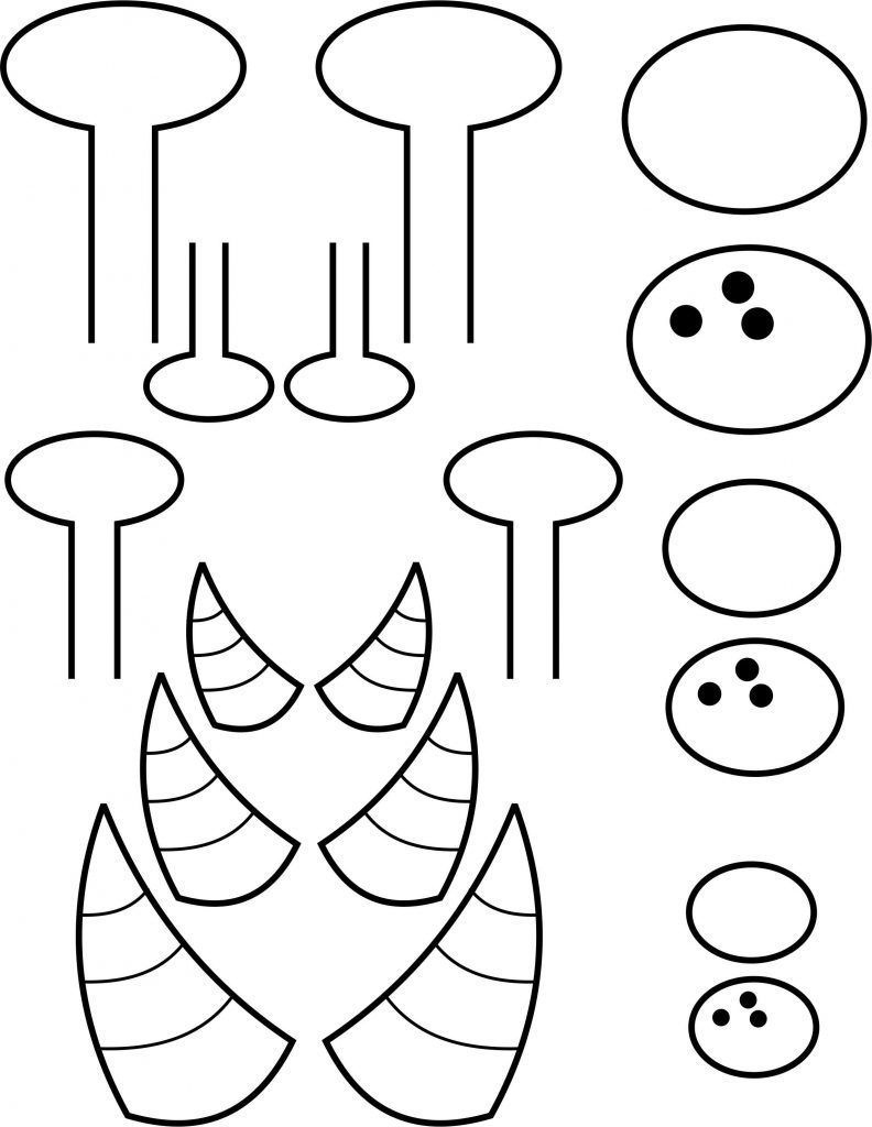 Paper Plate Monster | Space Activities For Kids | Monster Crafts - Free Printable Monster Templates