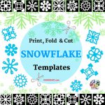 Paper Snowflakes   Christmas Holiday Arts And Crafts   December   Free Printable Snowflake Patterns