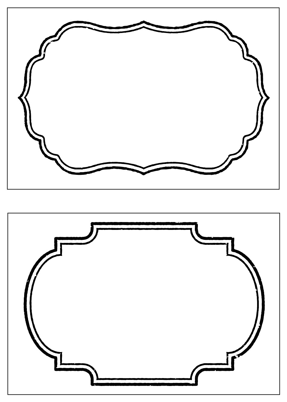 Party Basics: Food Labels - Clip Art Library - Free Printable Food Labels