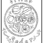 Passover Seder Plate Coloring Page Passover Coloring Page | Holy Day   Free Printable Messianic Haggadah