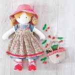 Pattern: Printable Rag Doll Sewing Pattern | Sewing | Doll Sewing   Free Printable Cloth Doll Sewing Patterns