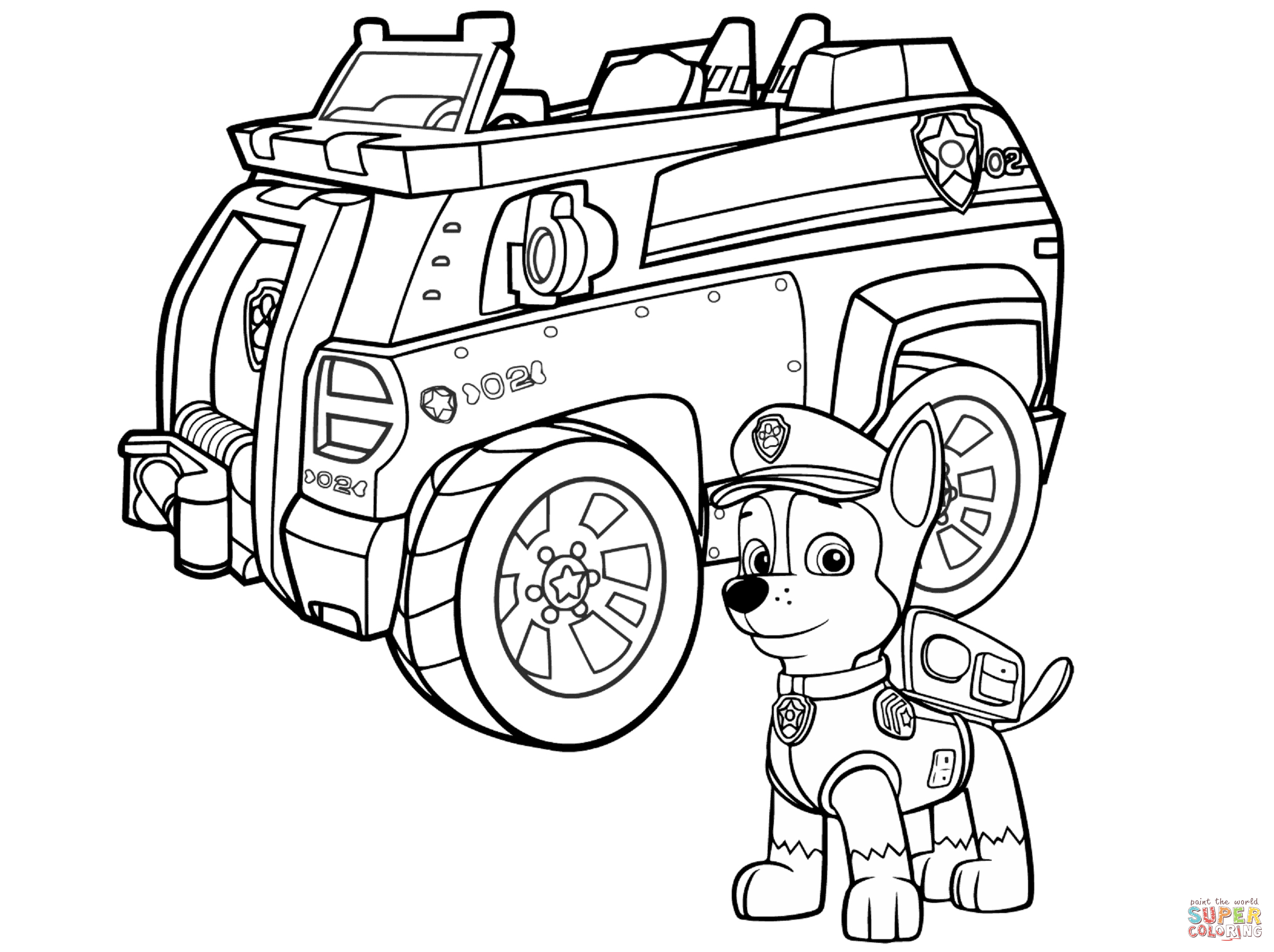 Free Printable Paw Patrol Coloring Pages | Free Printable