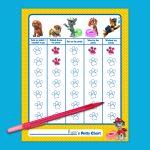 Paw Patrol Potty Training Chart   Nickelodeon Parents   Free Printable Potty Training Charts