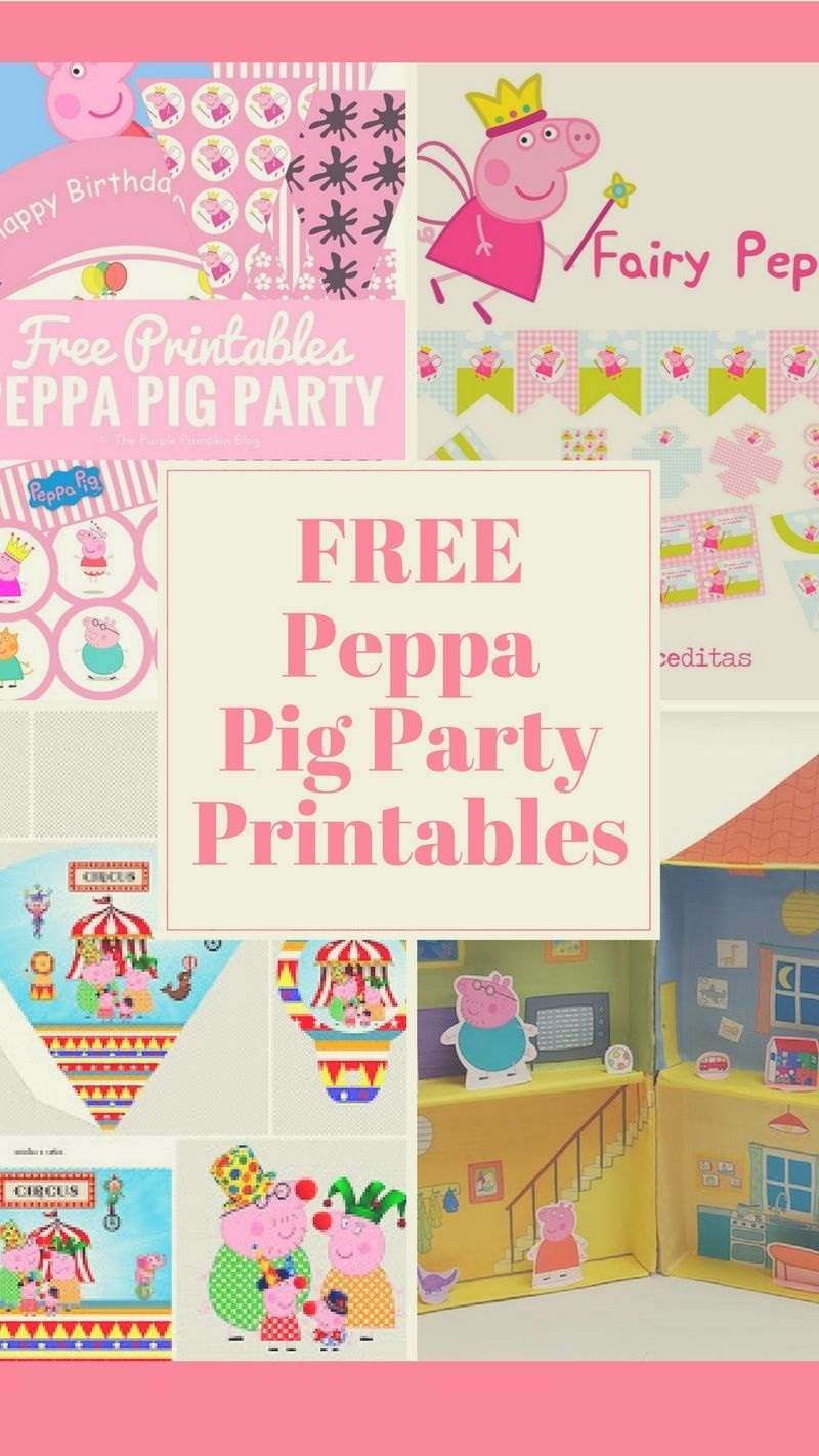 Peppa Pig Birthday Party Idea, Crafts And Free Printables. | Ms 2Nd - Peppa Pig Birthday Banner Printable Free