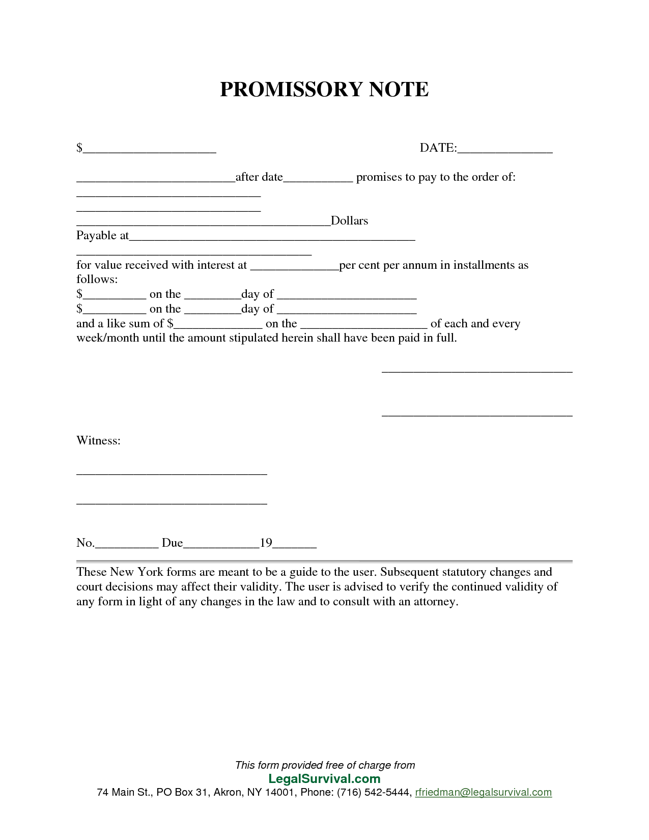 Permalink To Free Promissory Note Template | Templates, Printables - Free Printable Promissory Note