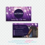 Personalized Doterra Business Card, Doterradigitalart On Zibbet   Free Printable Doterra Sample Cards