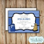 Personalized Printable Doctor Who Party Invitation Doctor   Etsy   Doctor Who Party Invitations Printable Free