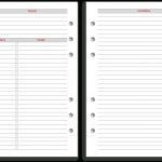Philofaxy: Diary Inserts For 2019   Free Printable Diary Pages