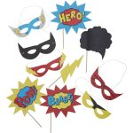 Photo Booth Props | Wedding And Party | Hobbycraft   Free Printable Superhero Photo Booth Props