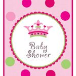Photo : Princess Baby Shower Invitations Image   Free Printable Princess Baby Shower Invitations