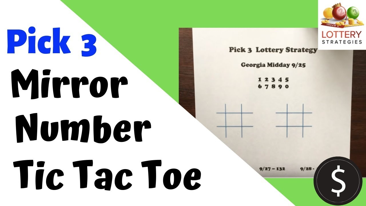 Pick 3 Lottery Strategy 2018 - Mirror Number Lotto Strategy!!! - Free Printable Mirrored Numbers
