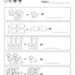 Picture Subtraction Worksheet   Free Kindergarten Math Worksheet For   Free Printable Kindergarten Addition And Subtraction Worksheets