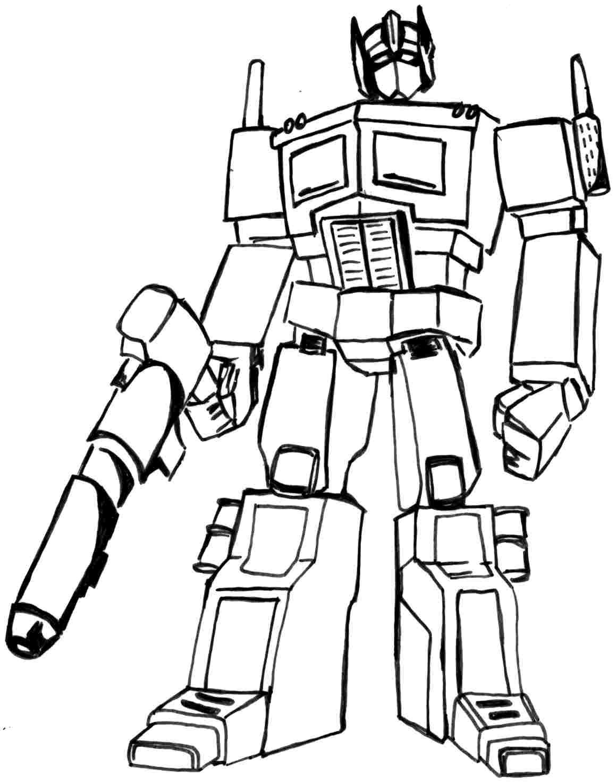 Pin De Julia En Colorings   Transformers Coloring Pages, Coloring - Transformers 4 Coloring Pages Free Printable