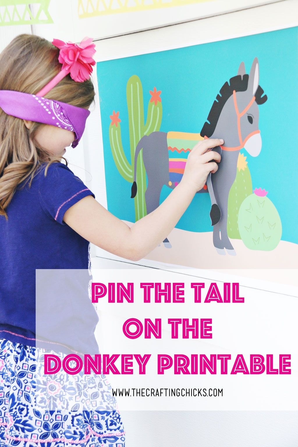 Pin The Tail On The Donkey | All Time Favorite Printables | Kids - Pin The Tail On The Donkey Printable Free