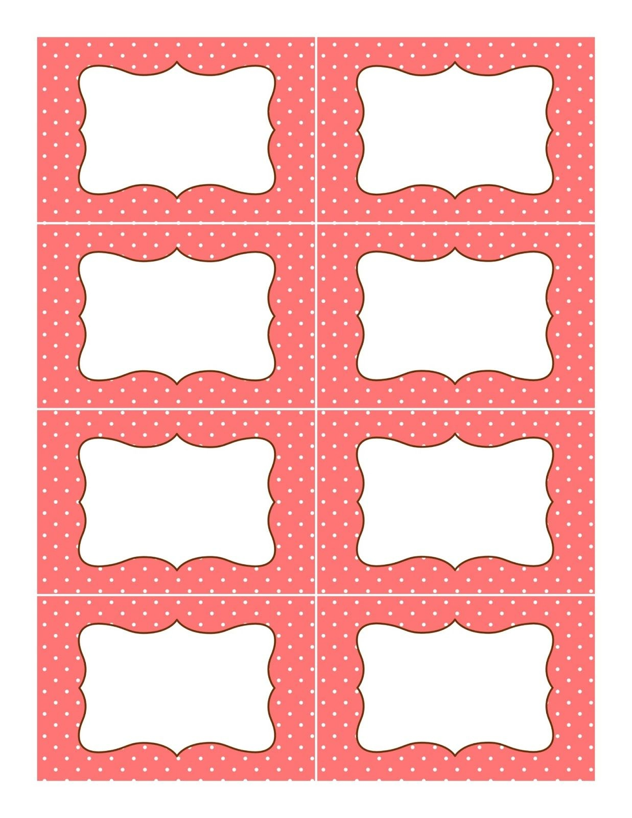 Pinbrenda Recinos On Labels | Printable Labels, Candy Buffet - Free Printable Candy Buffet Labels Templates