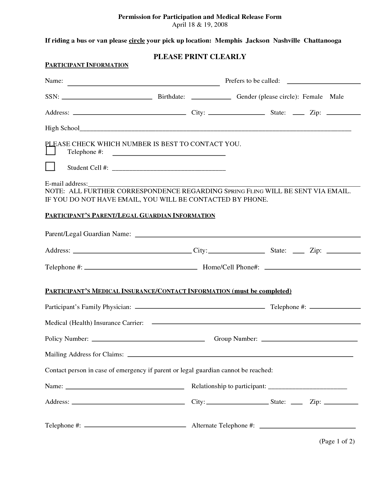 Pingiovanni Mastrocola On Pain No Gain | Incident Report Form - Free Printable Medical Forms Kit