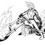 Pinjennifer Moore On Eric | Ghost Rider, Coloring Pages   Free Printable Ghost Rider Coloring Pages