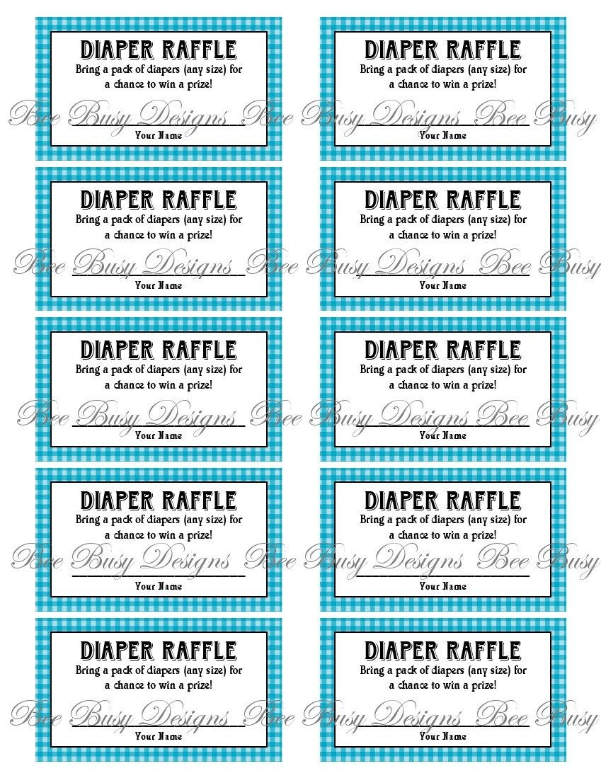 Pinkats Kreations On Baby In 2019 | Diaper Raffle, Baby Shower - Free Printable Diaper Raffle Tickets