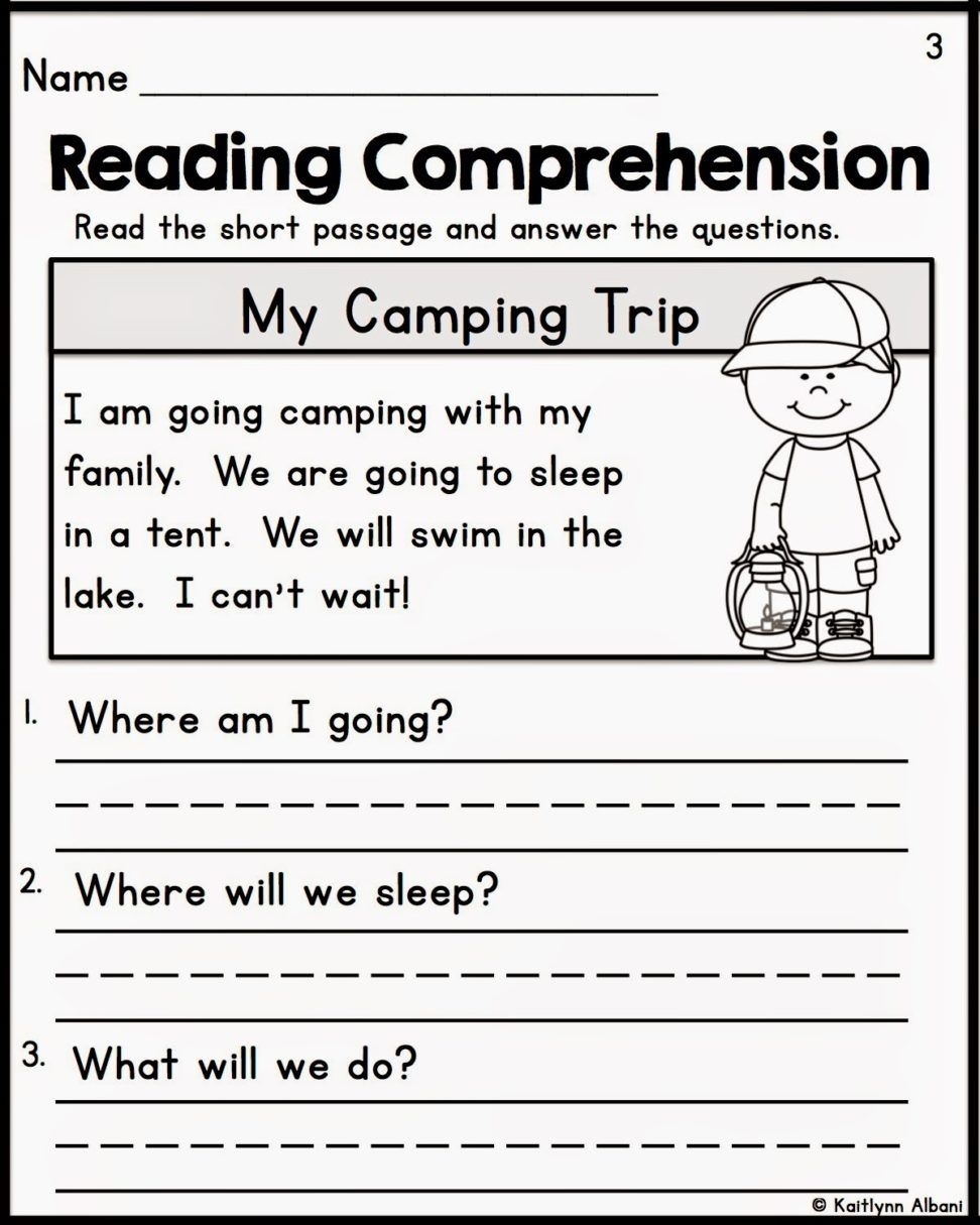 Pinkelly Matz On Ese | Free Reading Comprehension Worksheets - Free Printable Reading Comprehension Worksheets For Kindergarten