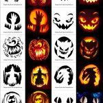 Pinlauren Somma On Halloween Pumpkins In 2019 | Halloween   Scary Pumpkin Stencils Free Printable