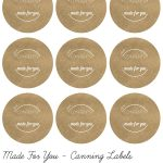 Pinlisa Wirth On Printables   Canning Jar Labels, Jam Jar Labels   Free Printable Mason Jar Labels Template