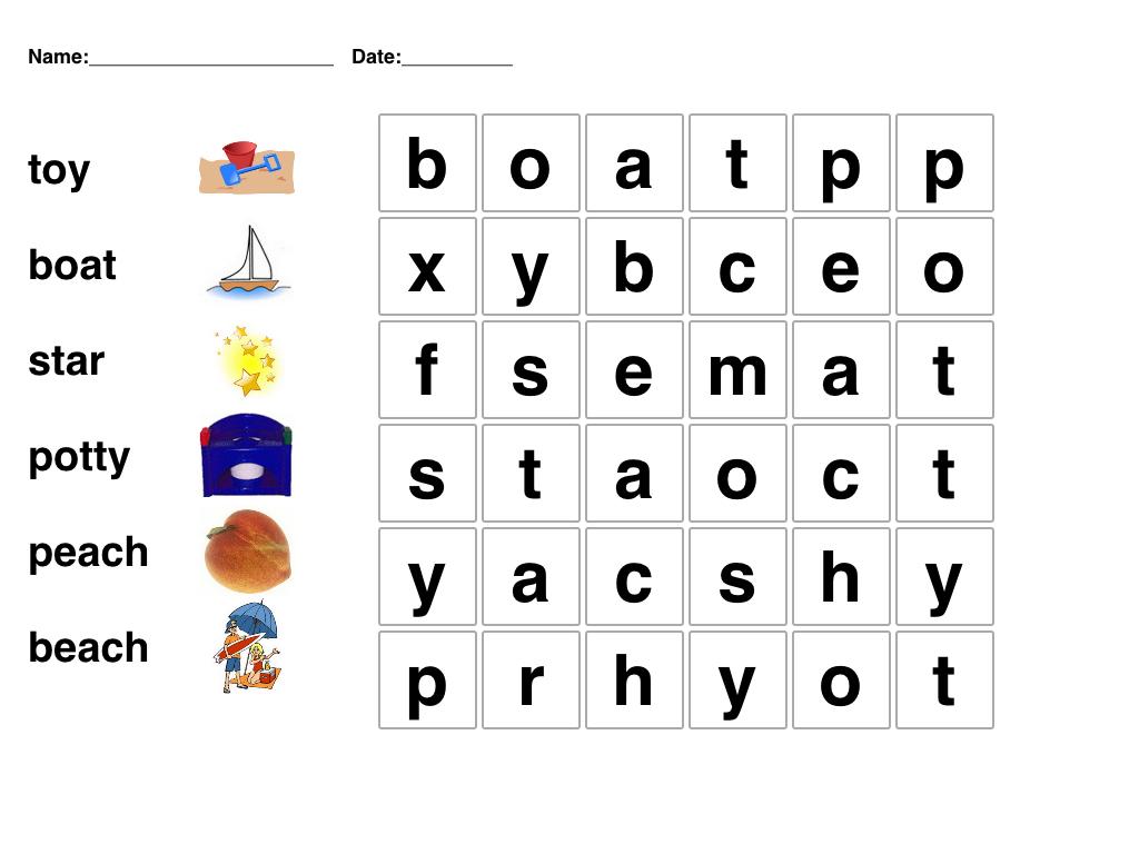 Pinmari On Phonetics | Kids Word Search, Kindergarten Word - Word Search Free Printable Easy