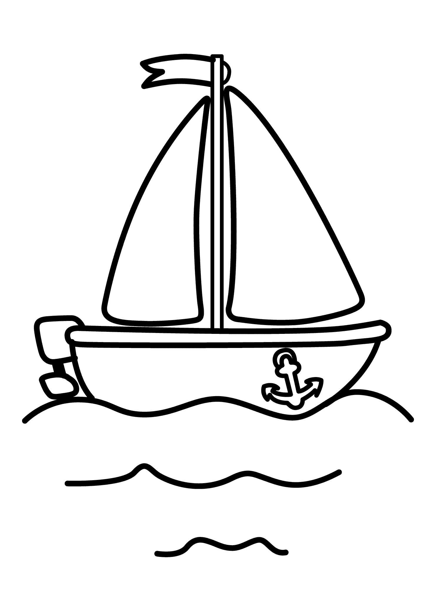 Pinshreya Thakur On Free Coloring Pages | Coloring Pages For - Free Printable Boat Pictures
