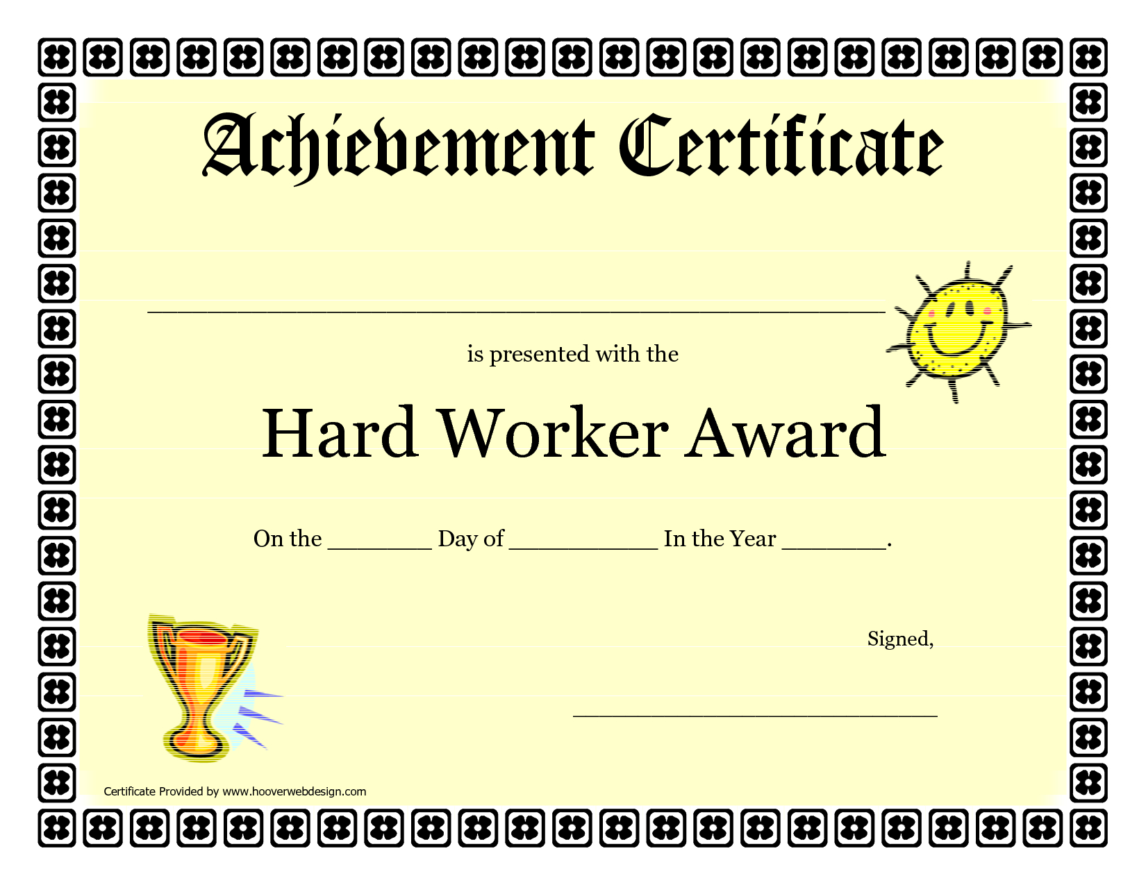 Pinstephanie Simmons On Preschool Certificates   Certificate Of - Free Customizable Printable Certificates Of Achievement