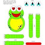Pintammy Strickler On Printables | Frog Crafts, Frog Crafts   Free Printable Crafts For Preschoolers