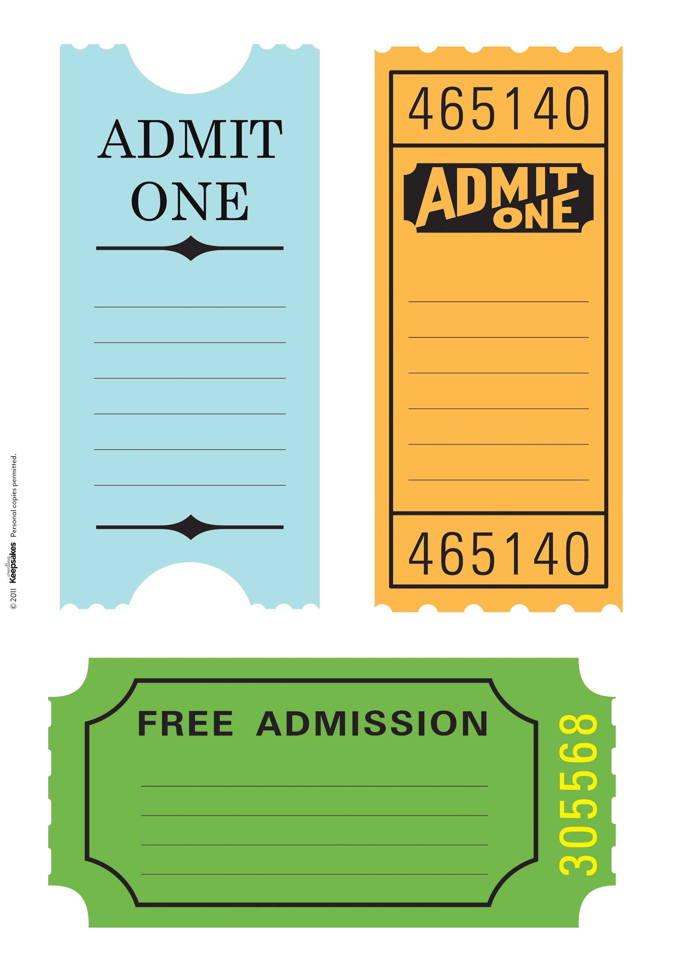 Pintanya Hayes On Fletchers Train Birthday Party | Scrapbook - Free Printable Admission Ticket Template