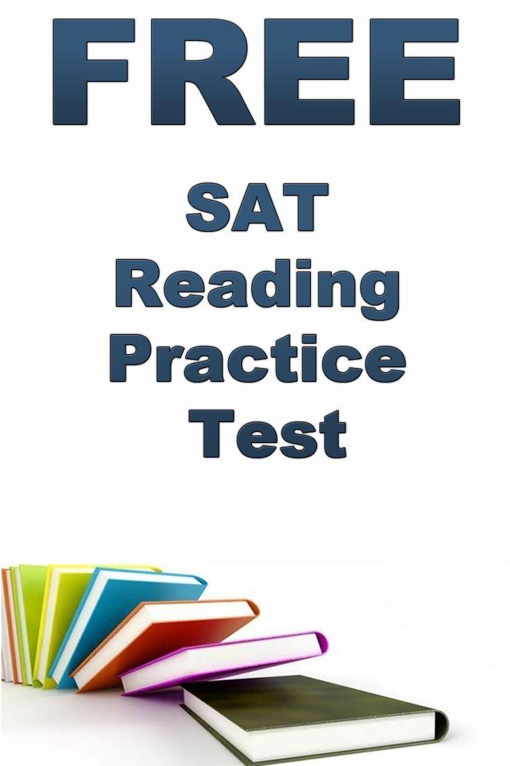 Pinwedoevents On Education   Reading Practice, Sat Reading, Free - Free Isee Practice Test Printable