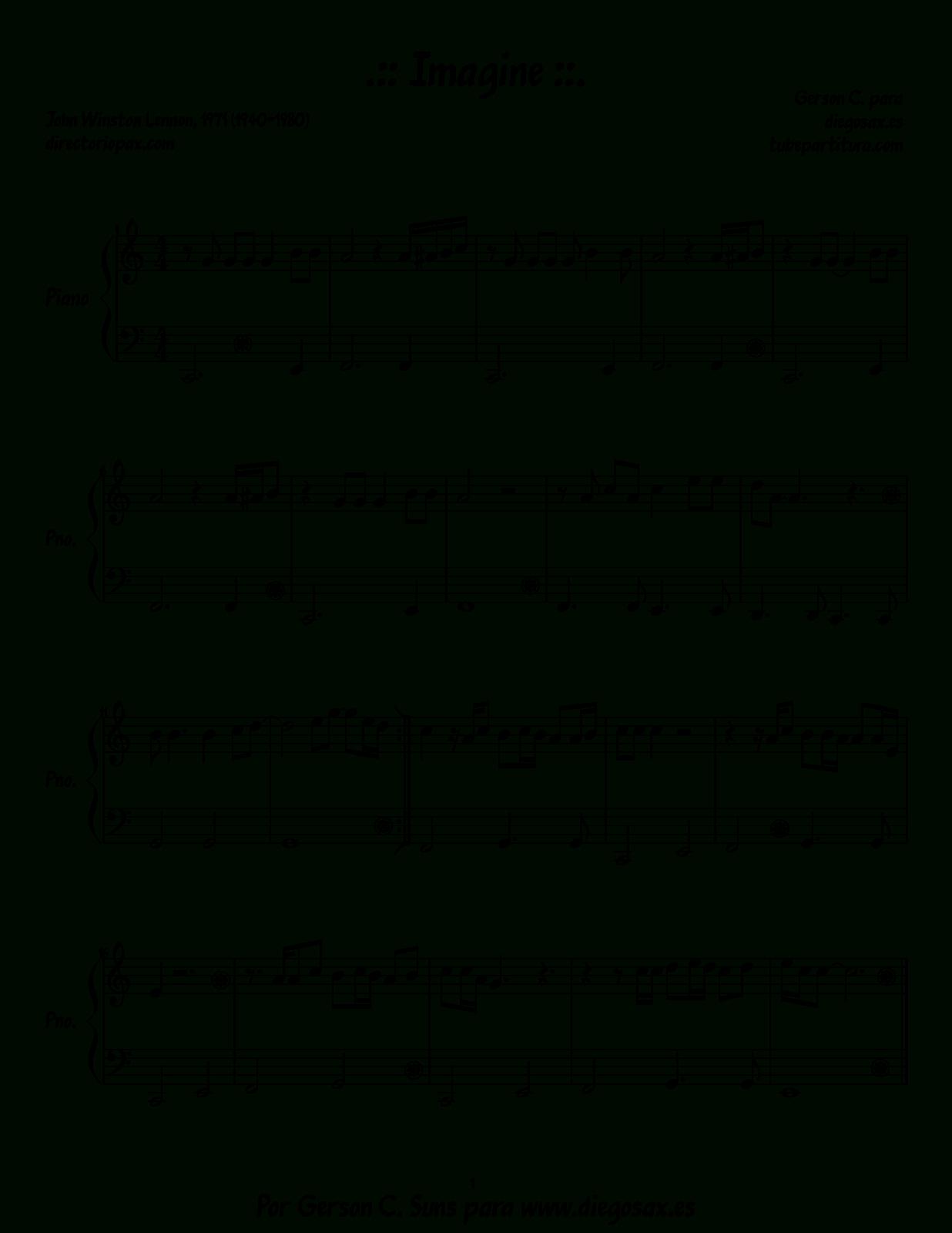 Pishaclay - Pop Songs Piano Sheet Music Pdf - Free Piano Sheet Music Online Printable Popular Songs