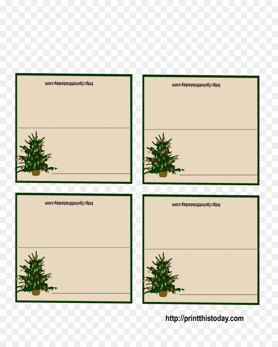 Place Card Christmas Decoration Christmas Card Template - Table Card - Free Printable Place Card Templates Christmas
