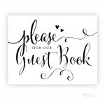 Please Sign Our Guestbook Free Printable (90+ Images In Collection   Please Sign Our Guestbook Free Printable