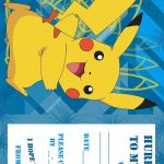 Pokemon Birthday Invitations Free Printable | Birthday Ideas In 2019   Free Printable Pokemon Birthday Invitations