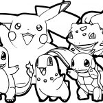 Pokemon For Children   All Pokemon Coloring Pages Kids Coloring Pages   Free Printable Pokemon Coloring Pages